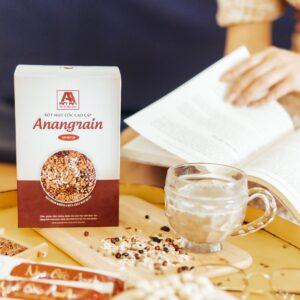 Bột ngũ cốc An An làm từ nguyên liệu sạch, chất lượng, không hương liệu độc hại