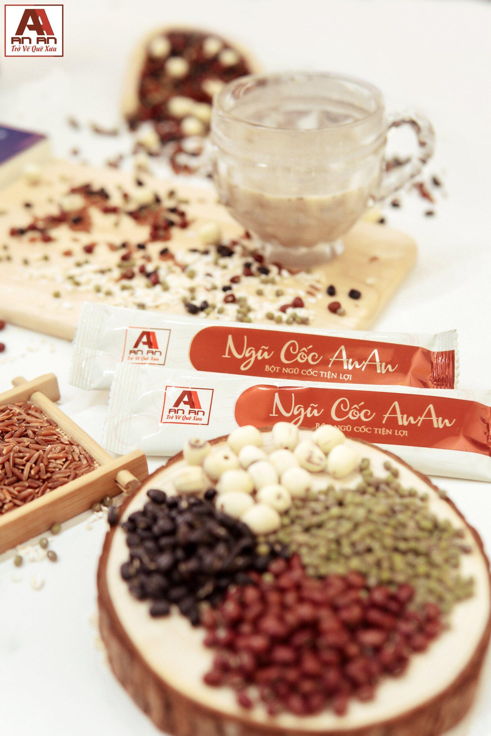 Bột ngũ cốc thảo dược cung cấp khoáng chất và vitamin tốt cho sức khỏe