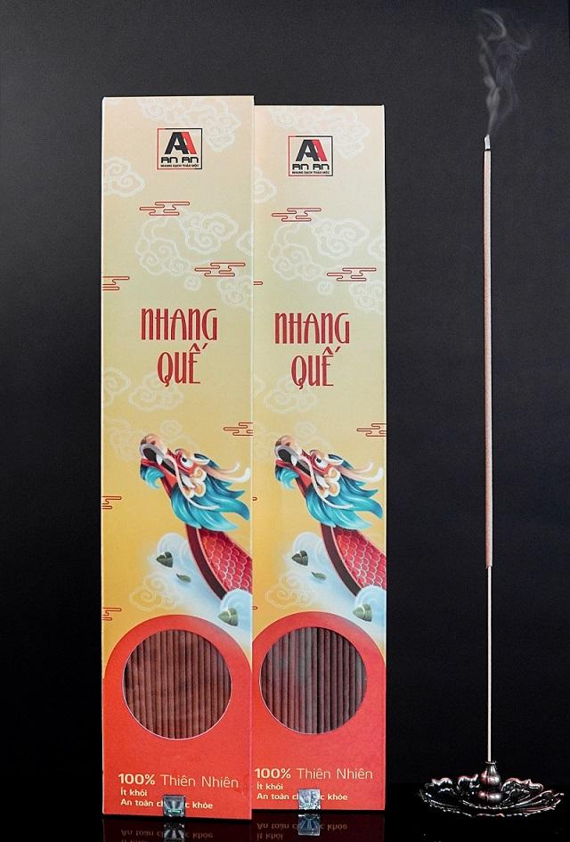 Hộp nhang quế thần Long mang đậm ý nghĩa truyền thống dân tộc Việt