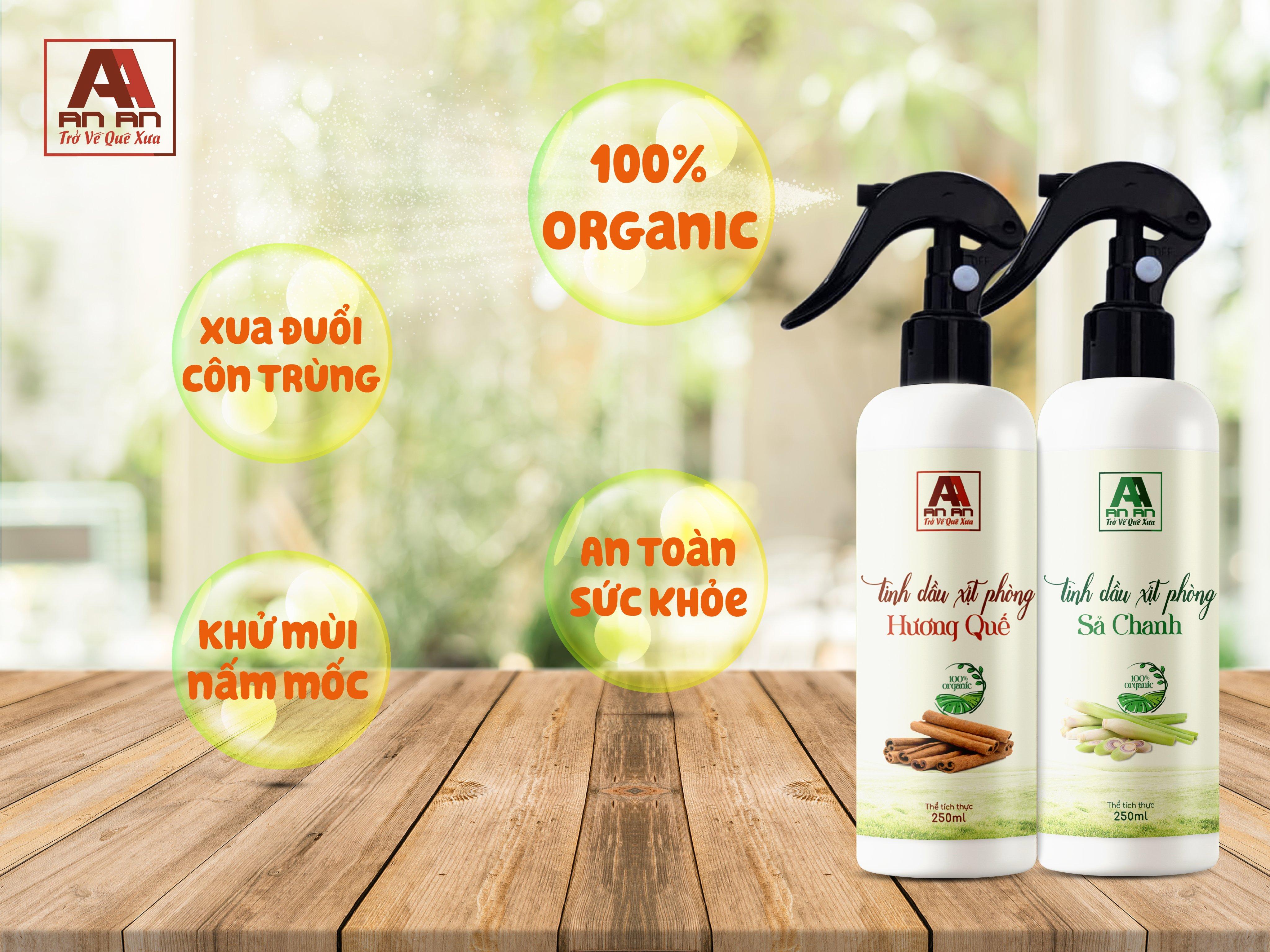 Tinh dầu xịt phòng chiết xuất từ thảo dược